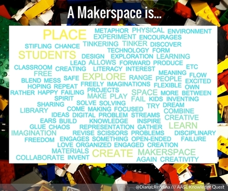 How We Define Makerspaces | Knowledge Quest | iPads, MakerEd and More  in Education | Scoop.it