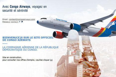 Congo Airways commencera ses vols le 20 août. | CONGOPOSITIF | Scoop.it