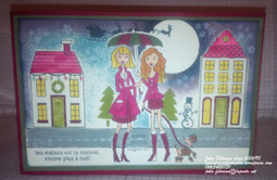 Blog Hop - Carte de Noel - de la Stampin'Class - #Stampinup! | Loisirs Créatifs manuels | Scoop.it