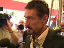 John McAfee At Beacon Hotel in South Beach, May Be in Miami For Awhile (VIDEO) | The Billy Pulpit | Scoop.it