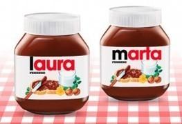 Nutella copia Coca-Cola e mette il nome in etichetta. Boom di richieste in Spagna, Belgio e Francia. E in Italia? — Il Fatto Alimentare   Marketing & Curiosities   Scoop.it