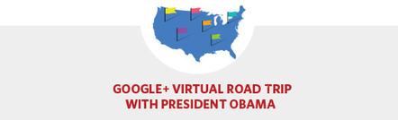 Organiza Obama viaje virtual y vía Google+ Hangout responderá a ciudadanos | Marketing | Scoop.it