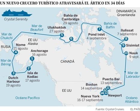 Los grandes cruceros toman el Ártico | NOTICIAS CIENCIAS SOCIALES NSD | Scoop.it