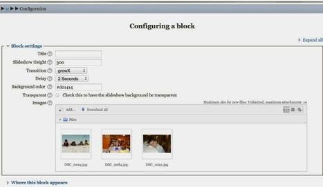 Add A Slideshow To Moodle 3 With This Plugin | Moodling | Scoop.it