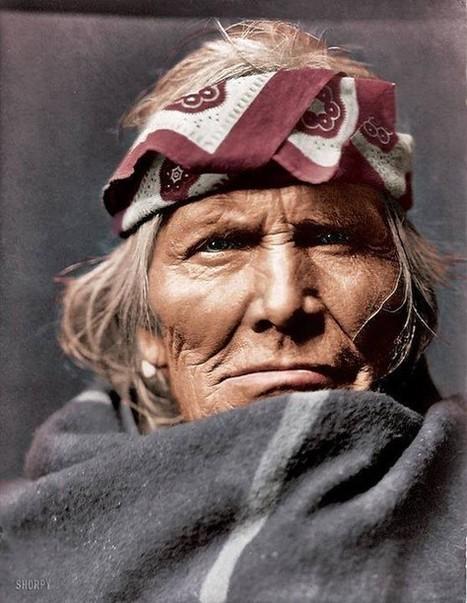 Un Homme Trouve Des Photos En Couleur D'il Y A 100 Ans: Voici Les Indiens D'Amérique Comme Vous Ne Les Avez Jamais Vus | Ca m'interpelle... | Scoop.it