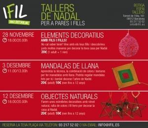 Talleres de Navidad con hilos y másmateriales | Cuidando... | Scoop.it