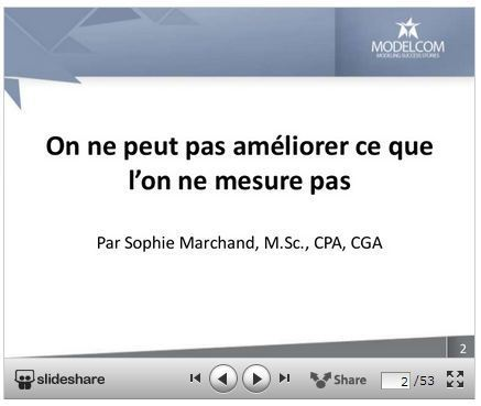 Webinaire: Tableaux de bord | Blogue Modelcom | Intelligence d'affaires | Scoop.it