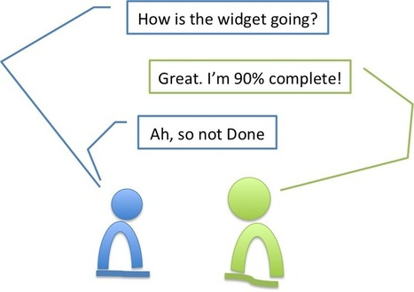 90% Complete not = Done | Project Management Practices | Scoop.it