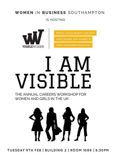 Women in Business Southampton: I am visible event | UoS Business School Undergraduate News | Scoop.it