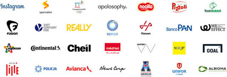 Logo round-up: May 2013 | Corporate Identity | Scoop.it