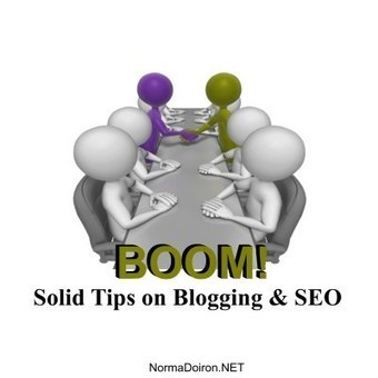 BOOM! Solid Tips on Blogging and SEO, Part 1 | Internet Entrepreneurship Tips to Make Money Online | Scoop.it