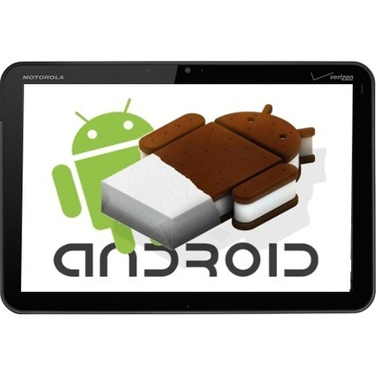 Android 4.0.3 build ready for Motorola XOOM   Do The Robot   Scoop.it