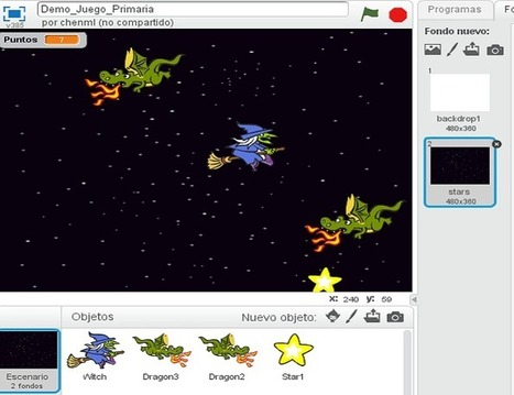 Creando un videojuego paso a paso con Scratch desde cero   tecno4   Scoop.it