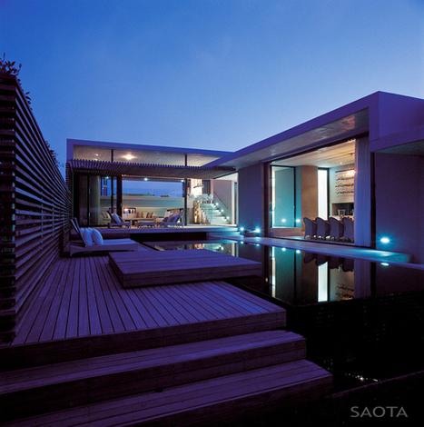 Comment exploiter le moindre espace pour ériger une maison contemporaine luxueuse   Construire Tendance   Scoop.it
