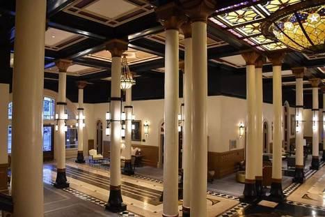 Lobby of The Historic Driskill Hotel in Austin, Texas | Art & Design Matters | Scoop.it