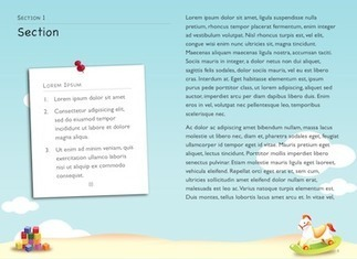 iBooks Author Templates :: Childrens Book | The many ways authors are using Apple's iBooks Author and iBooks2 | Scoop.it