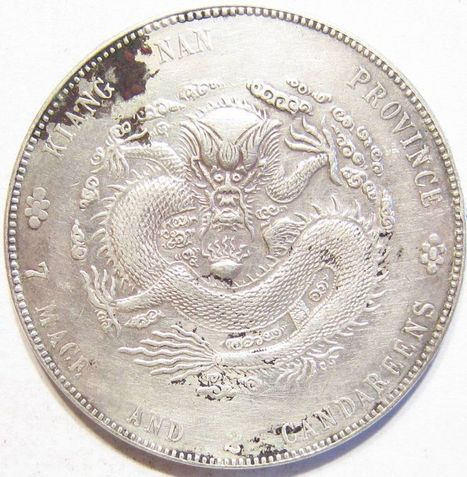 1904 .900 SILVER CHINA RARE KIANGNAN DOLLAR Kann #99 Y# 145a.12 Kuang-hsü 27 g. | Coins Tokens & Medals | Scoop.it