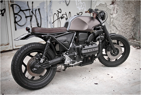 CUSTOM BMW K75 by MOTO SUMISURA | Cafe Racers | Scoop.it