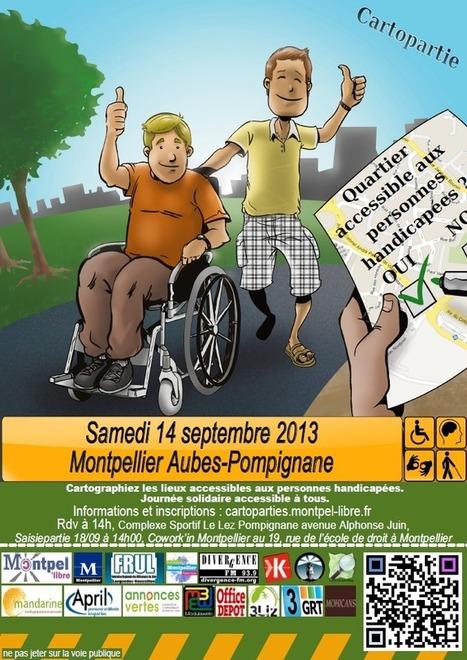 Cartographie CONTRIBUTIVE huitième journée - Cartopartie #8 - Données publiques ouvertes - Montpellier Territoire Numérique | actions de concertation citoyenne | Scoop.it