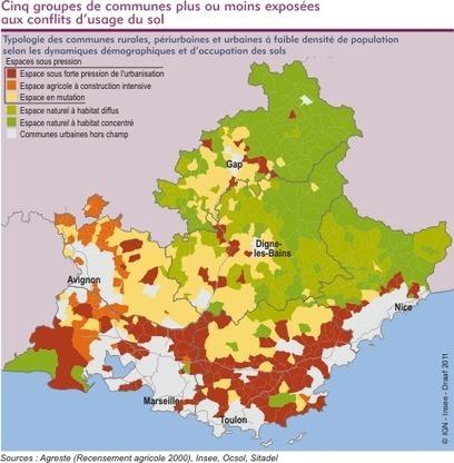 Insee - Territoire - Les terres agricoles face à la pression de l'urbanisation : une résistance et des enjeux différenciés | La ville en mutation | Scoop.it