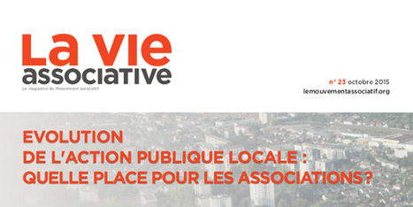 La Vie associative n°23 est sortie ! | Le Mouvement associatif | ESS = MORE news | Scoop.it
