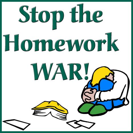 Anti-homework movement is growing | St. Mary's School Kodiak Alaska | Scoop.it