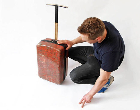 bio-wool hard shell luggage made from recycled carpets | Principe innovant 22 | Scoop.it