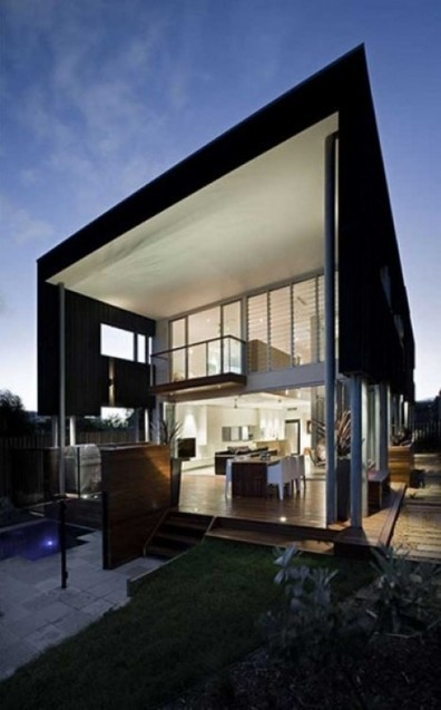 The Present Day Design : Unique Beach She Oak House Created by The Base Architecture | Beautiful Beach Houses | Scoop.it