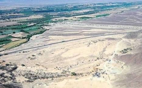 ! Que tales BESTIAS ! Empresa de extracción de cal destruye líneas de Nazca con maquinaria pesada | Patrimonio cultural | Scoop.it