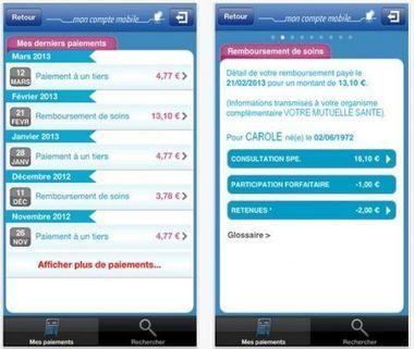 L'Assurance Maladie arrive sur votre iPhone - iPhone 5, 4S, iPad ... | Applications Iphone, Ipad, Android et avec un zeste de news | Scoop.it