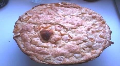 Tarte abricot et amande-Édith et sa cuisine   w3p-annuaire.com   Scoop.it