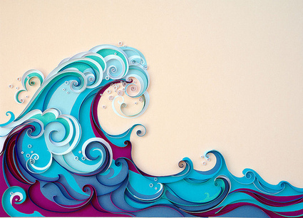 L'art en papier / Paper quilling - Quilting, Patchwork et Appliqué | Quilling and papermade | Scoop.it