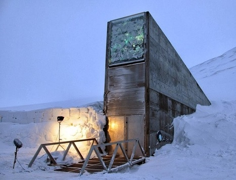 Svalbard Global Seed Vault | Landscape Creative Inspiration | Scoop.it