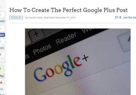 How To Create The Perfect Google Plus Post - Business 2 Community   Links sobre Marketing, SEO y Social Media   Scoop.it