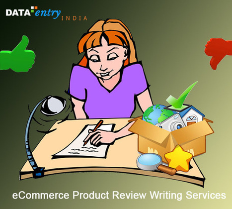 Boost Online Sales with Expert eCommerce Product Review Writing Services | Catalog Processing & Data Entry Services | Scoop.it