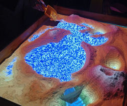 Augmented Reality Sandbox uses Kinect for real-time topography and simulated water | Augmented Reality in Teaching and Learning | Scoop.it