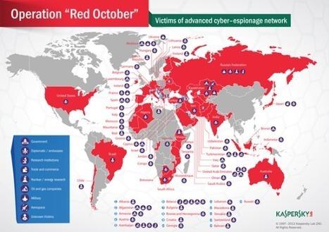 Cyber-espionnage : L'opération «Red October» met en émoi les gouvernements   Libertés Numériques   Scoop.it