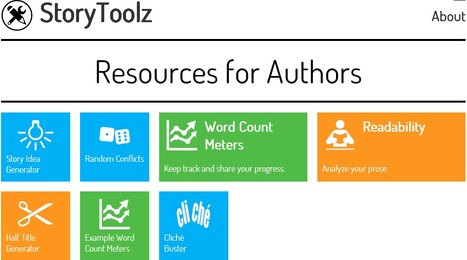 StoryToolz: Story Idea Generator and More for Authors | Education | Scoop.it