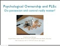 #PLE Personal Learning Environments and Psychological Ownership | Café puntocom Leche | Scoop.it