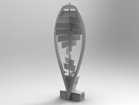 Helix_T Windturbine | Agronautas [NRU] Nuevas Realidades Urbanas | Scoop.it