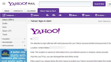 Log In to Your Yahoo! Mail Address or Lose it On July 15th | Self-exploring | Scoop.it