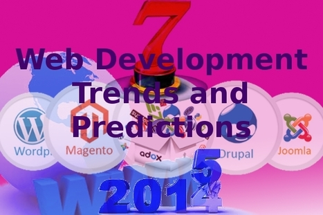 Top 7 Web Development Trends and Predictions for the Year 2015 | FortuneSofttech | Scoop.it