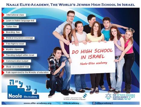 GOOD-BYE PARENTS, HELLO ISRAEL | Jewish High School Students Worldwide to Study in Israel | Scoop.it