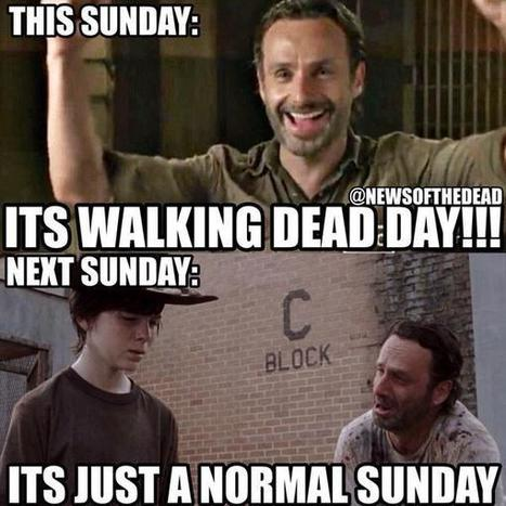 Twitter / NewsOfTheDead: Sunday's when The Walking Dead ... | TV shows | Scoop.it