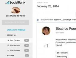 Social Rank. Detecter vos meilleurs followers sur Twitter - Les outils de la veille   Management et promotion   Scoop.it