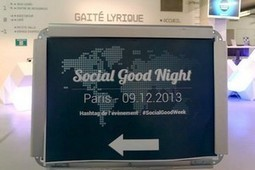 "Social Good Week : quand l'esprit de solidarité rencontre le numérique | ""green business"" 