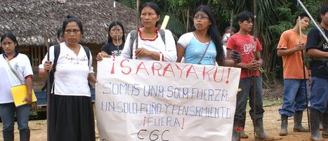 Inheemse volkeren en winningsindustrie: onverenigbaar? | Hivos | Inheemse volken. | Scoop.it