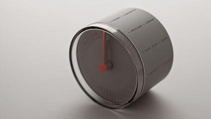 Vinte e quatro cidades, doze fusos horários, num só relógio. | Design | Scoop.it