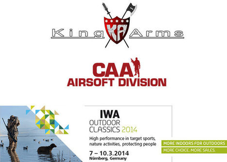 King Arms & CAAAD At IWA 2014 | Popular Airsoft | Airsoft Showoffs | Scoop.it
