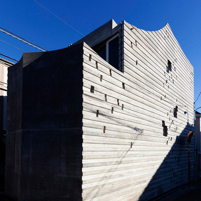Sabaoarch build three-metre-wide concrete house in Tokyo | Jp | Scoop.it